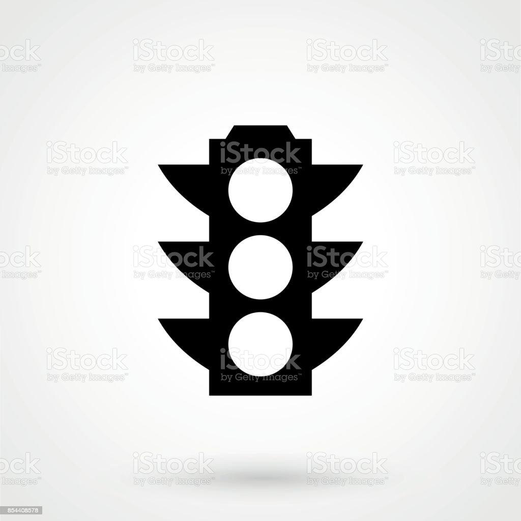 Semáforo de Vector icono. - ilustración de arte vectorial