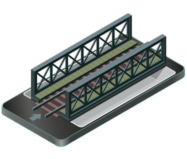 Best Railway Bridge Illustrations, Royalty-Free Vector ...