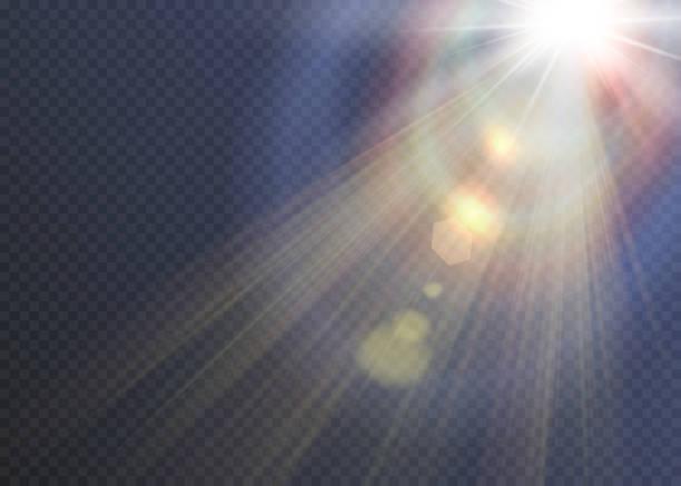 Vector transparent sunlight special lens flare light effect. Vector transparent sunlight special lens flare light effect. heaven stock illustrations