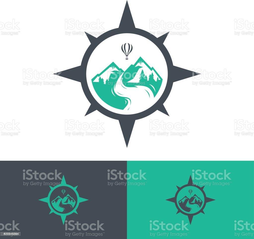 Icône de voyage de vecteur, illustration vectorielle s. Eps.8 Eps.10 - Illustration vectorielle