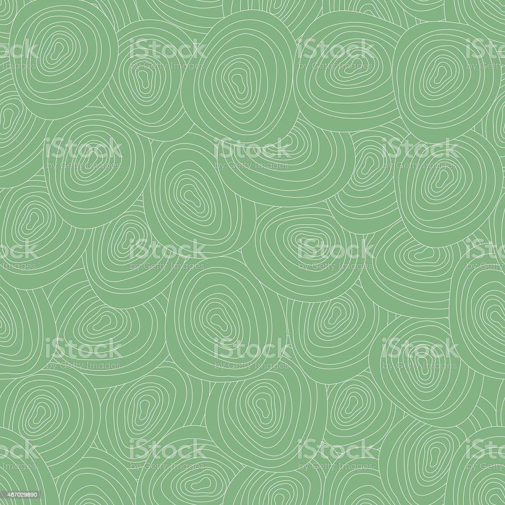 Vector tree rings seamless background vector art illustration