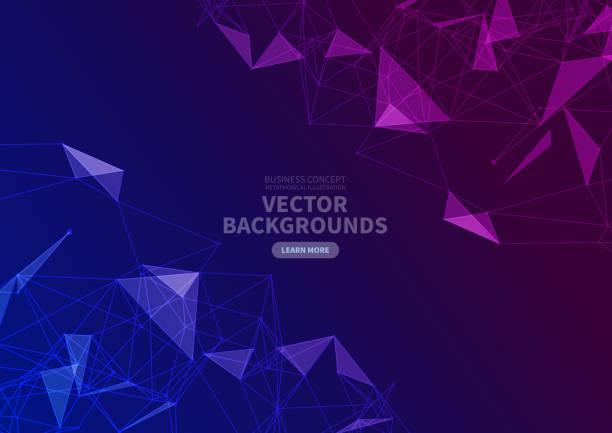 Vektordreieck-Hintergrund – Vektorgrafik