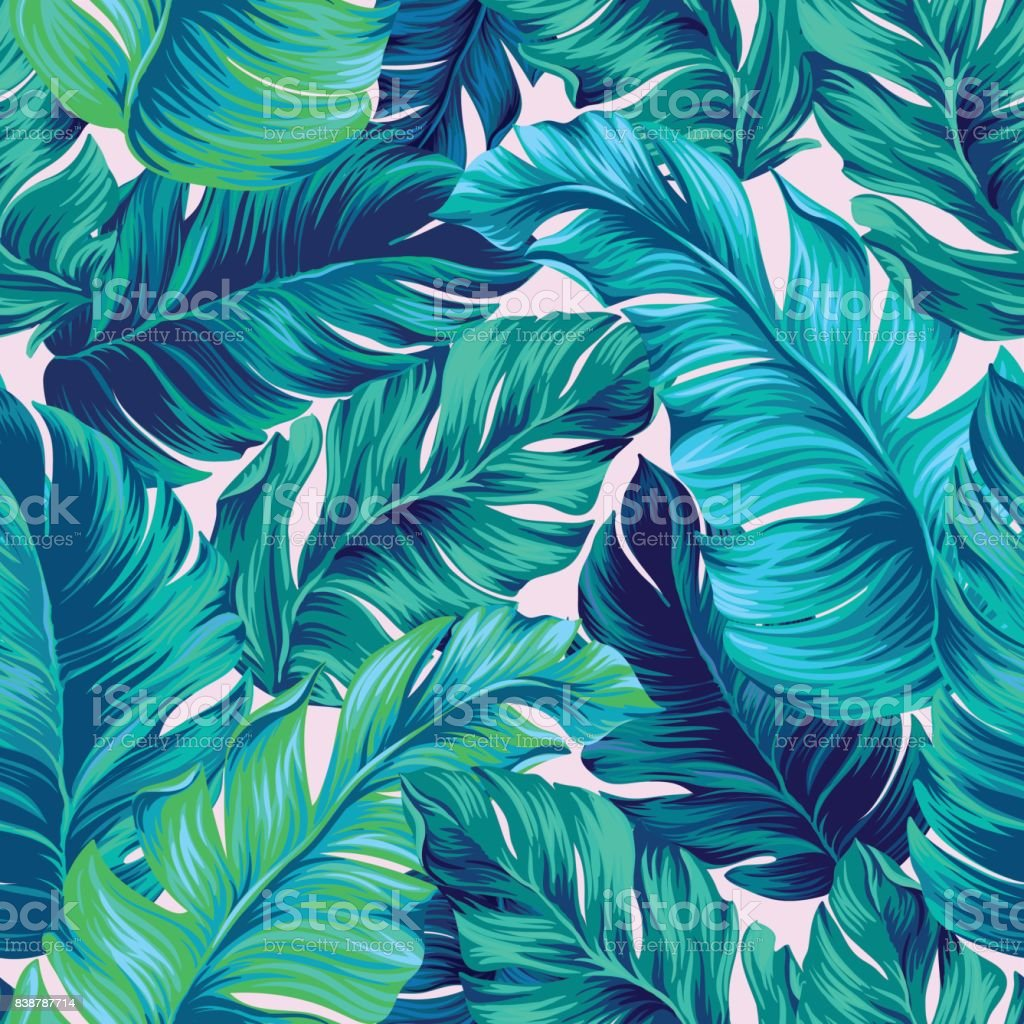 vector tropical palm seamless pattern. amazing vintage style royalty-free vector tropical palm seamless pattern amazing vintage style stock vector art & more images of design