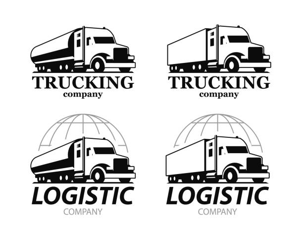 Diesel Truck Illustrations, Royalty-Free Vector Graphics