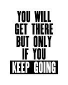 Inspiring motivation. Vector typography poster. Positive inspiration. Illustration for design.