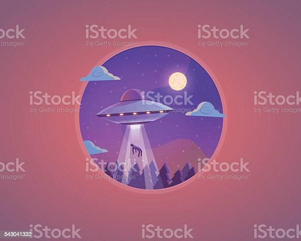 Vector ufo illustration flying saucer cartoon concept design vector id543041332?b=1&k=6&m=543041332&s=612x612&h=61ur5dmfdr6d6qi uksvbqlgbl1jp1syvhiwqah3xry=