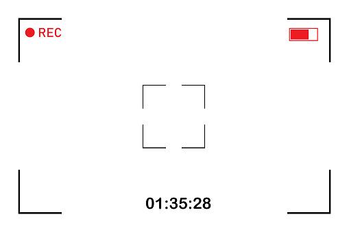 Vector ui screen. Overlay effect. Vector illustration. White background. Stock image. EPS 10.