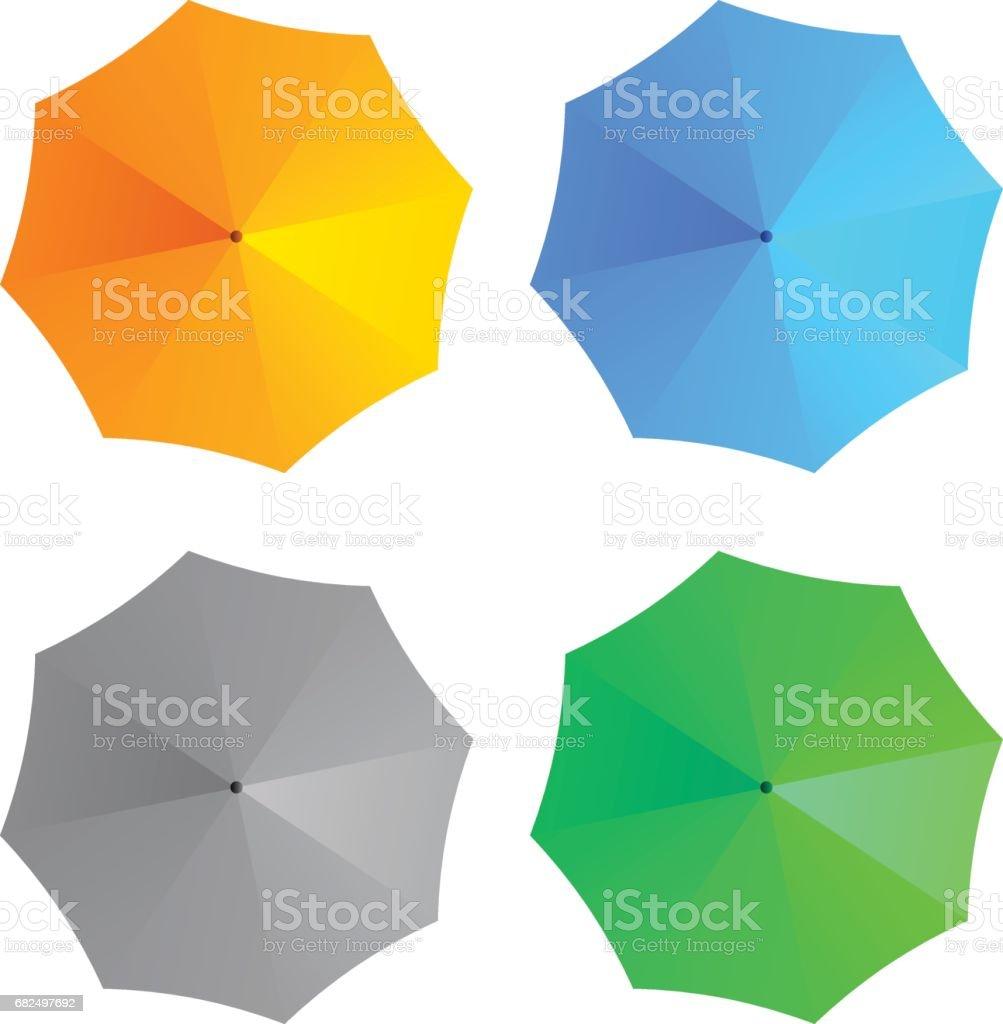 vector umbrellas royalty-free vector umbrellas stock vector art & more images of above