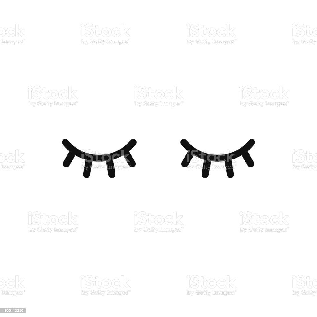 unicorn eyelashes vector best graphic sharing