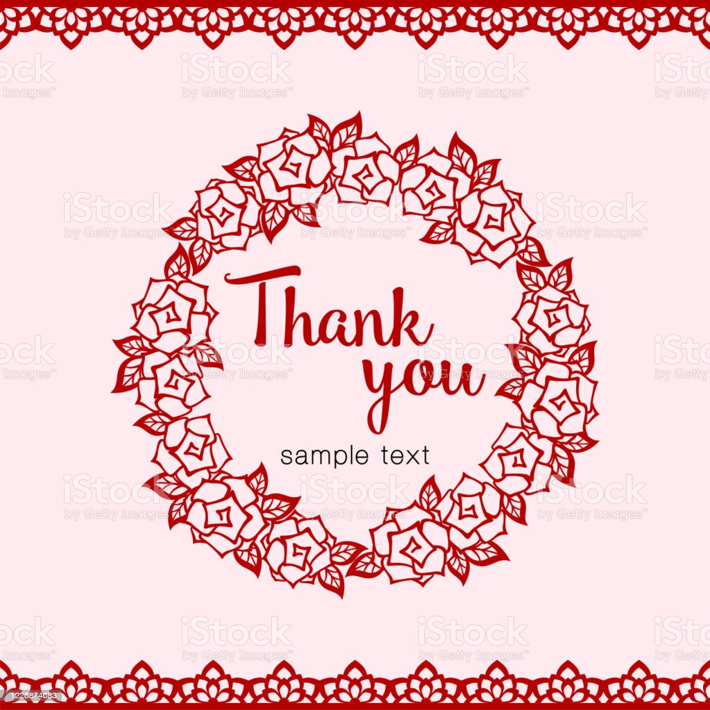 Template For Thank You Card from media.istockphoto.com