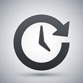 Vector update icon
