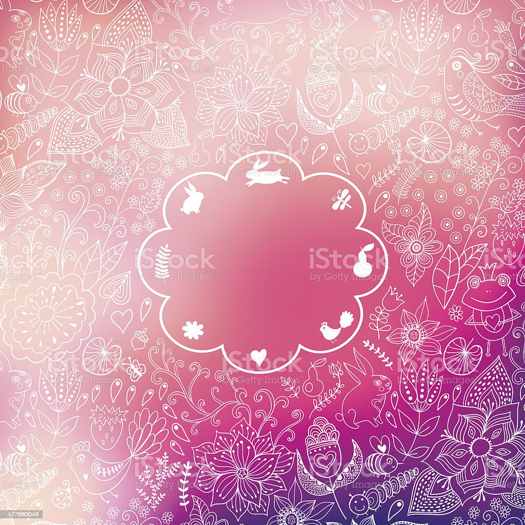 Vector Valentine's Day background. Blurred template, holiday. In royalty-free vector valentines day background blurred template holiday in stock vector art & more images of abstract