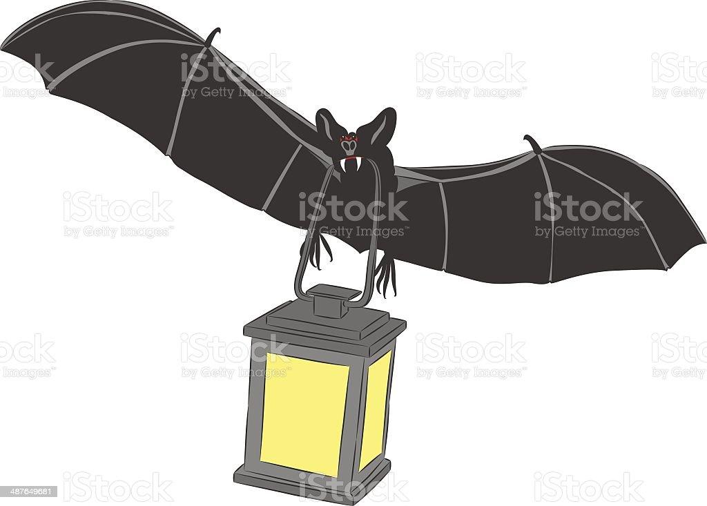 vector vampire bat royalty-free stock vector art