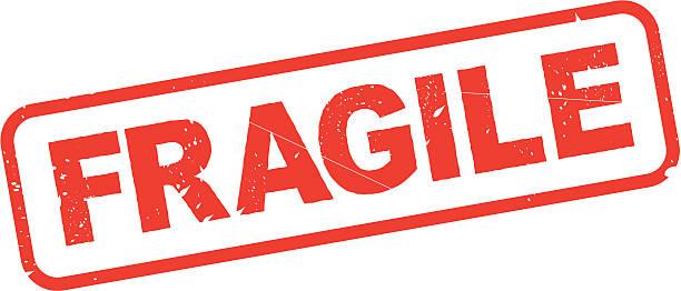 FRAGILE vector FRAGILE vector fragility stock illustrations