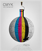 CMYK vector