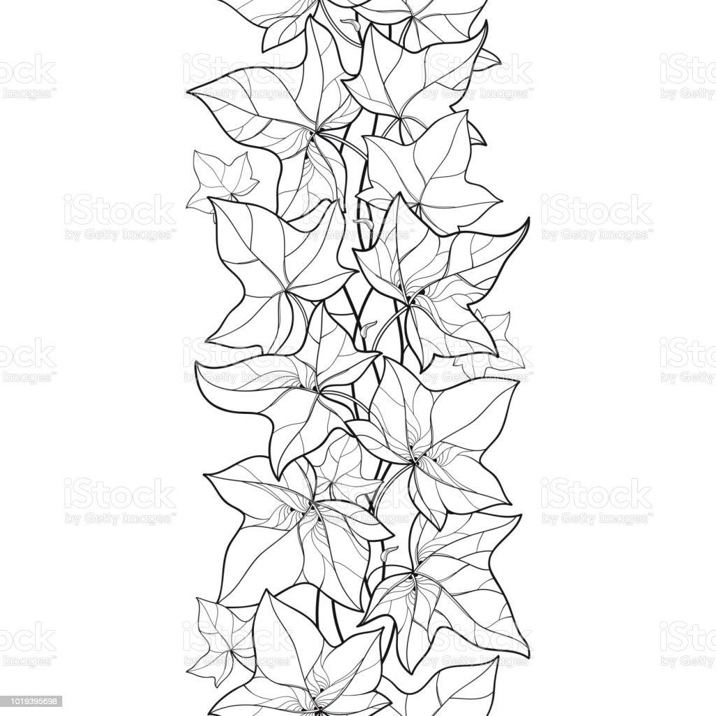 Ilustración De Vector Vertical De Patrones Sin Fisuras Con