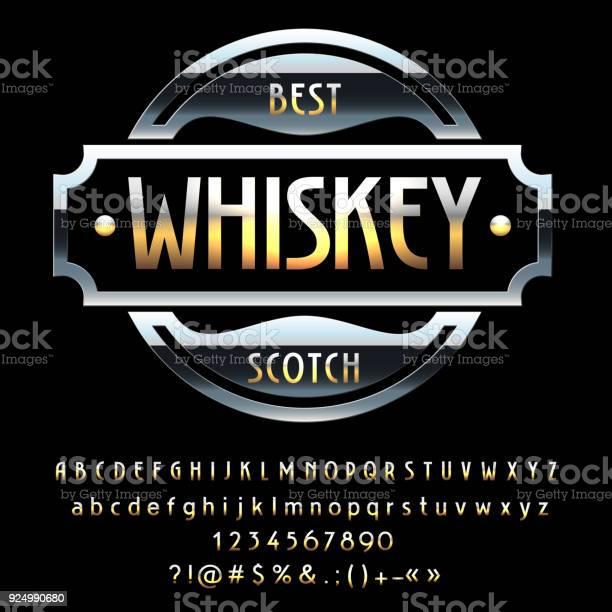 Vector vintage black emblem best whiskey scotch vector id924990680?b=1&k=6&m=924990680&s=612x612&h=esz5uwozz5hczcdpoto89ds66dbppge9bhu1vvmrooo=