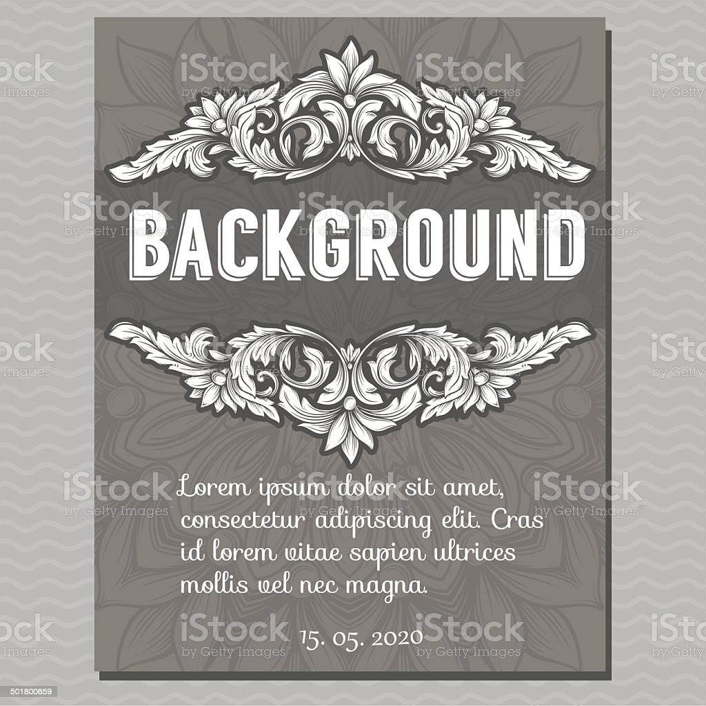 Vector vintage border frame royalty-free vector vintage border frame stock vector art & more images of abstract