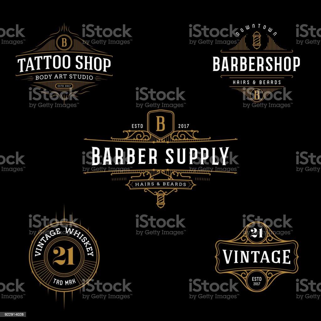 Vector vintage frame for symbol, label design. royalty-free vector vintage frame for symbol label design stock illustration - download image now