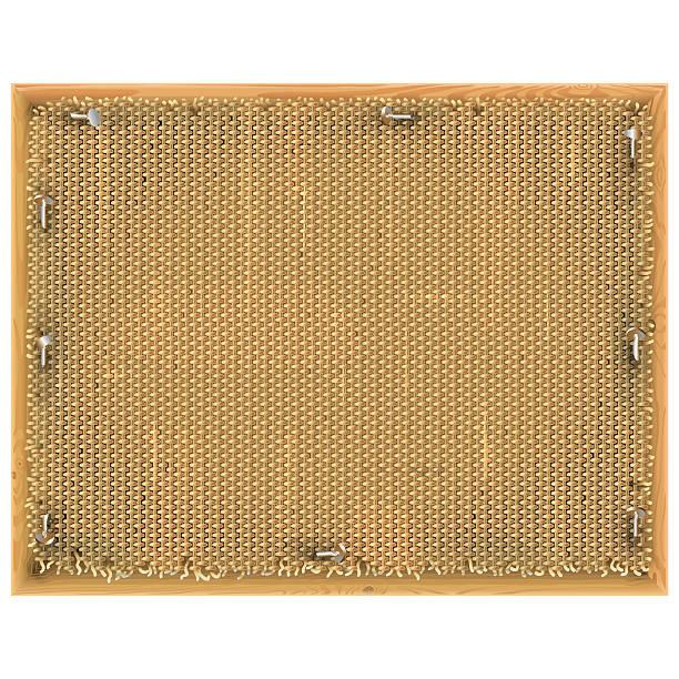 vector vintage frame with sackcloth - nagelspitze stock-grafiken, -clipart, -cartoons und -symbole