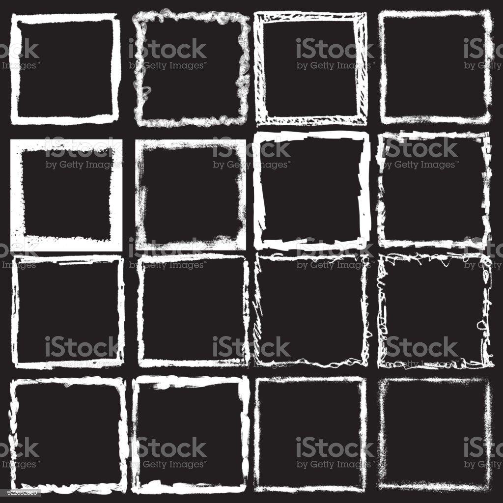 Ilustración de Vector Grunge Vintage Negro Blanco Y Color Angustia ...
