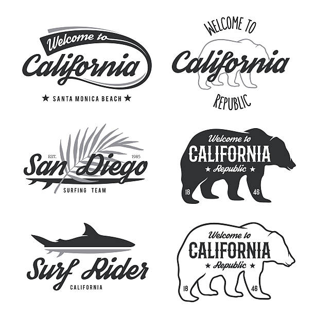 Download California Bear Illustrations, Royalty-Free Vector ...