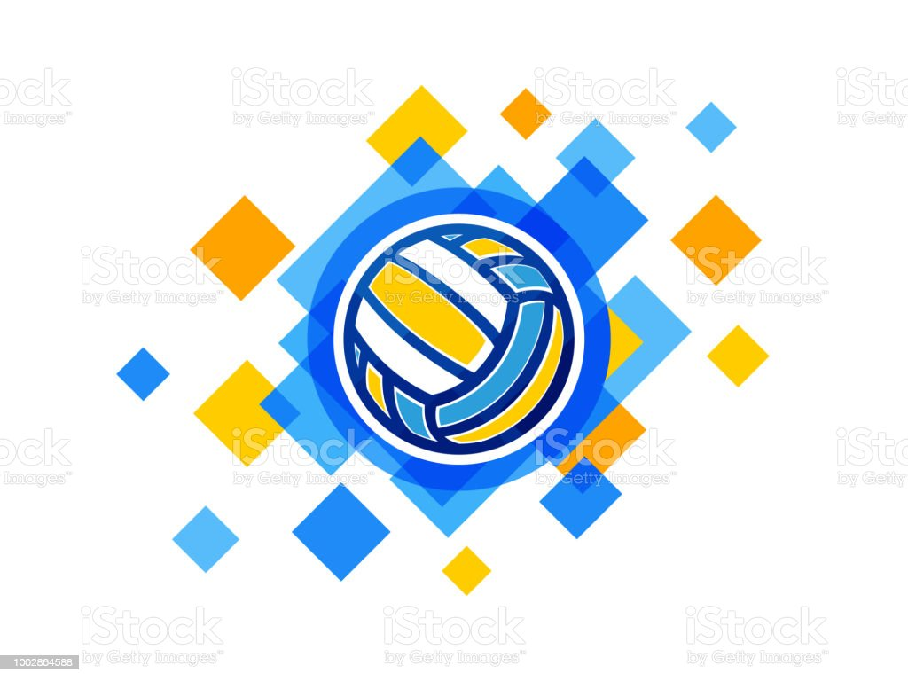 Vector Volleyball Ball Symbol Volleyball Championship Logo Stock Illustration Download Image Now Istock