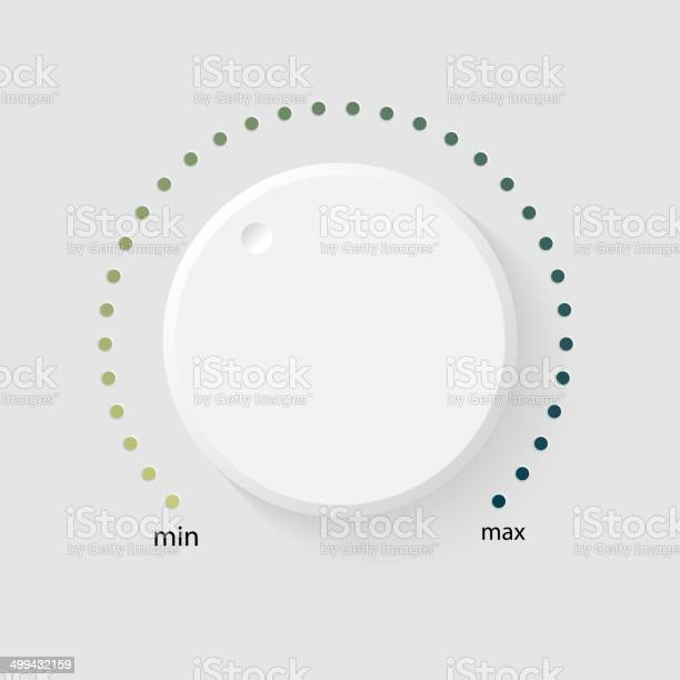 Vector Volume Music Control Stock Illustration - Download Image Now