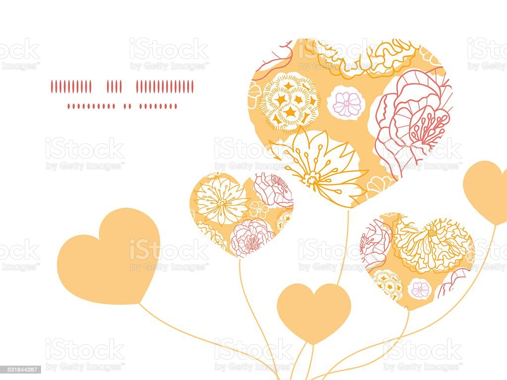 Vector warm day flowers heart symbol frame pattern invitation vector warm day flowers heart symbol frame pattern invitation greeting royalty free vector warm day stopboris Image collections