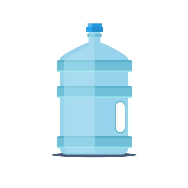 6241 Royalty Free Clip Art Cartoon Water Bottle clipart. Commercial use  GIF, JPG, PNG, EPS, SVG, AI, PDF clipart # 389362 | Graphics Factory