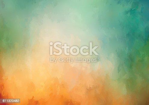 istock Vector Watercolor Background 611320482