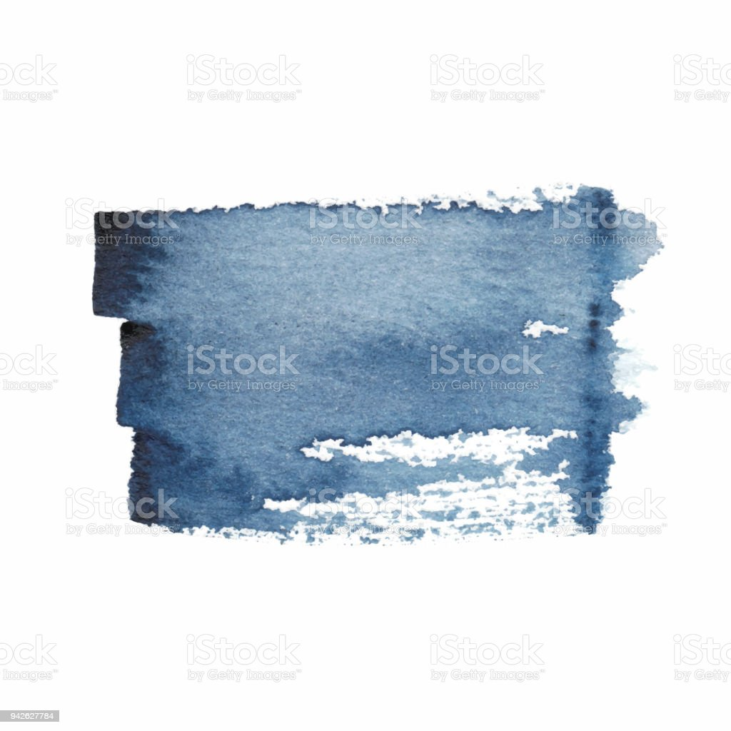 Vector Watercolor Paint Spot Stock Vector Art More Images Of