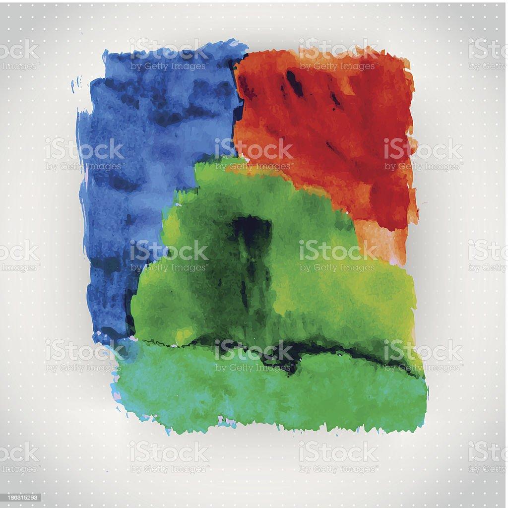 Vector watercolor texture. royalty-free stock vector art