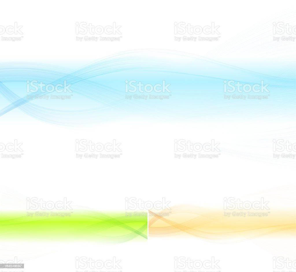 Vector Wave design element vector art illustration