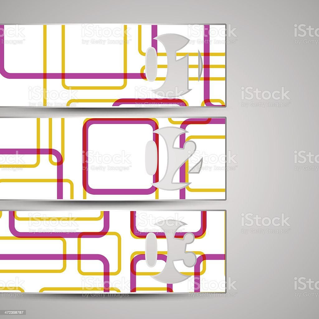 Vector web element for your design royalty-free stock vector art