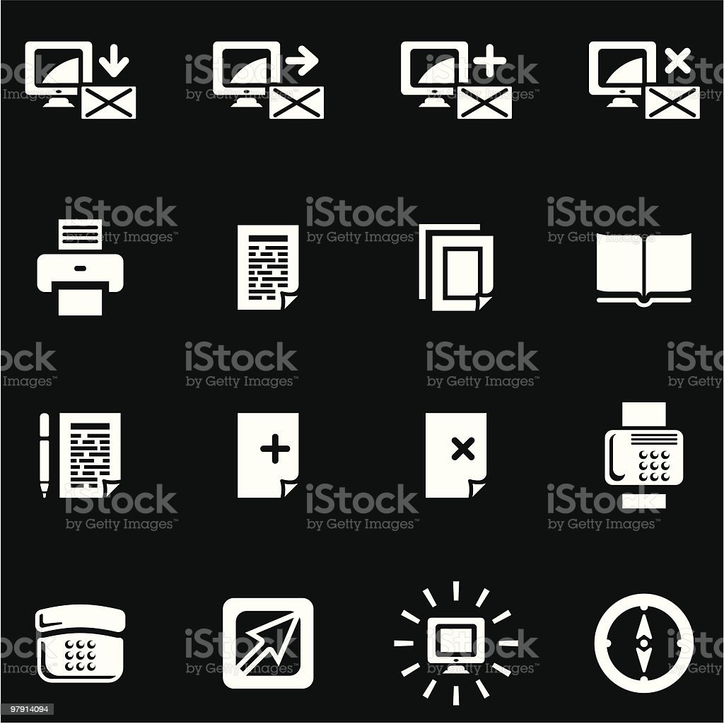 Vector Web Icons Set royalty-free vector web icons set stock vector art & more images of agreement
