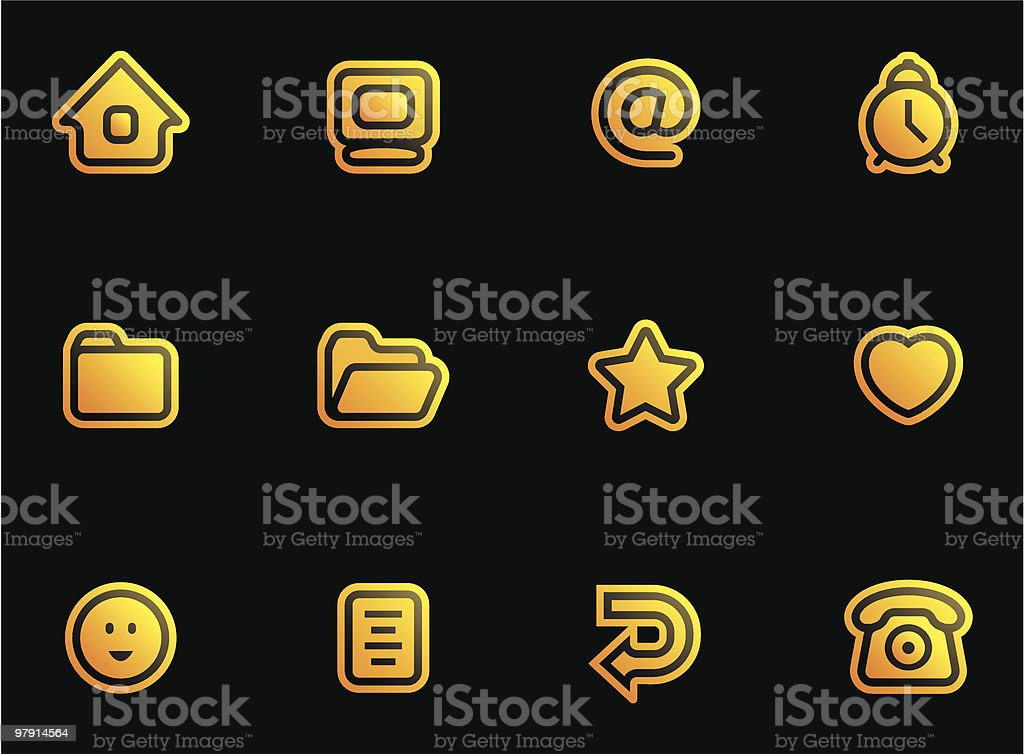 Vector Web Icons Set royalty-free vector web icons set stock vector art & more images of alarm clock