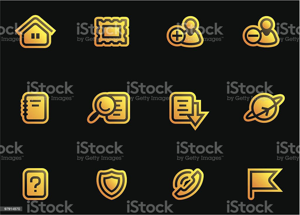 Vector Web Icons Set royalty-free vector web icons set stock vector art & more images of adult