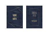 Vector Wedding Invitation Card Design