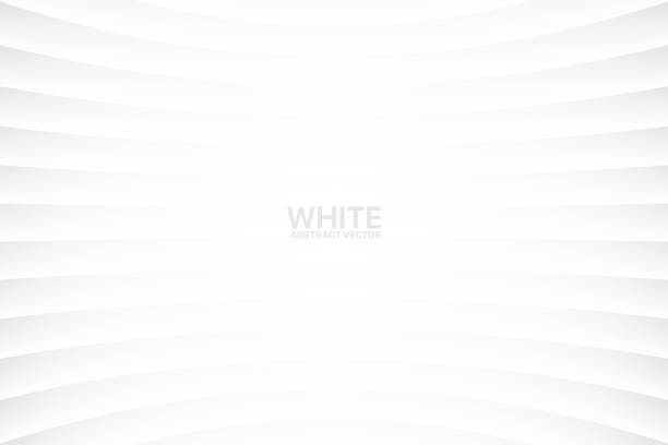 vector white abstract geometrical background - abstract art stock illustrations