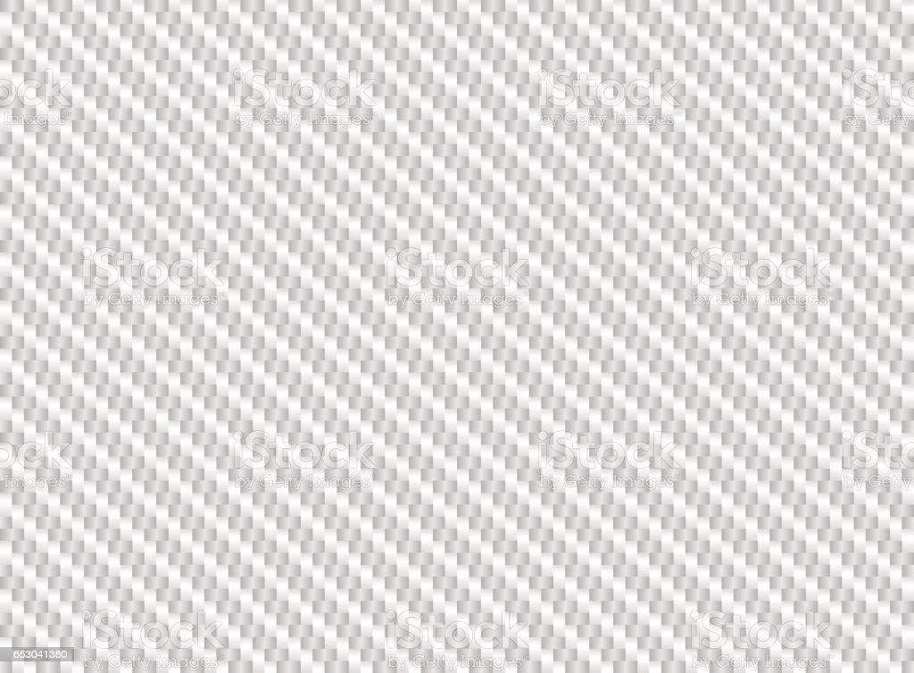 vector white carbon fiber seamless background stock vector