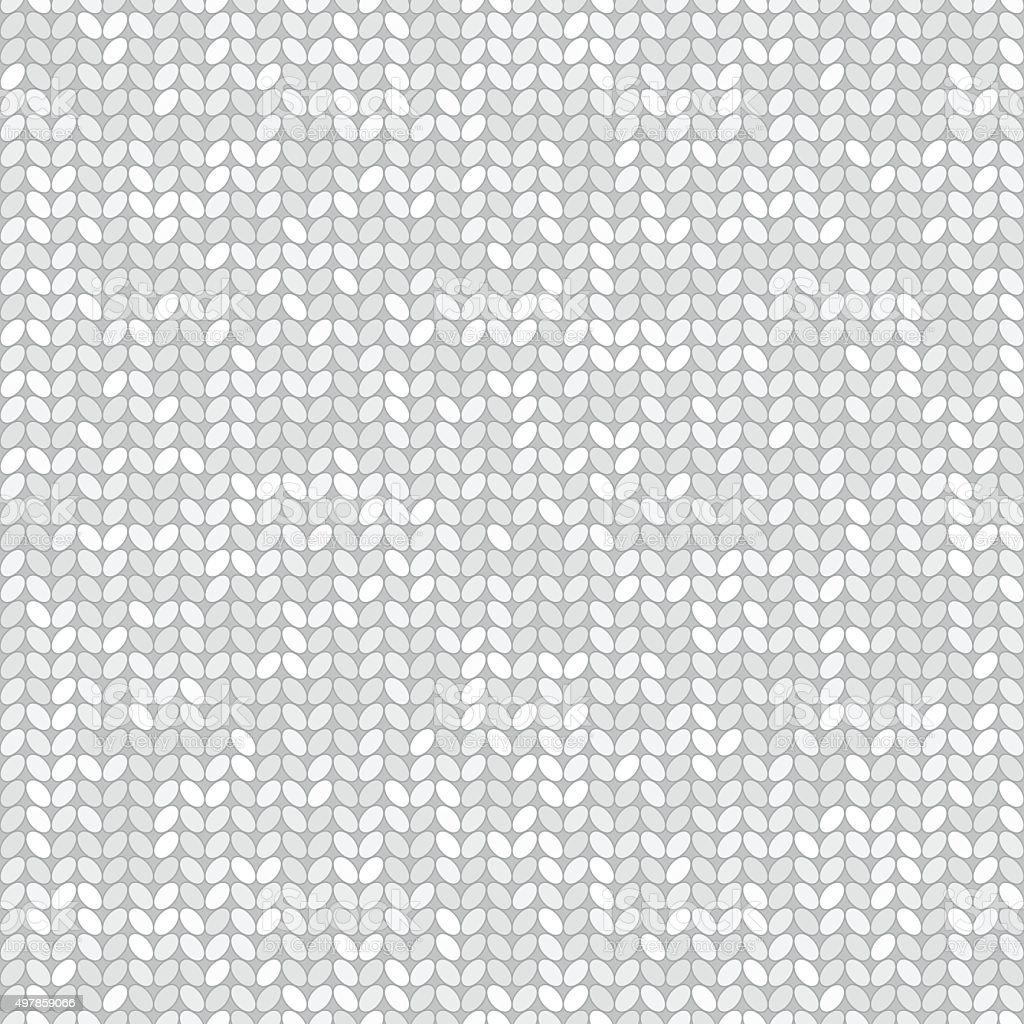 Patrón Sin Costuras Vector Blanco Tejido - Arte vectorial de stock y ...