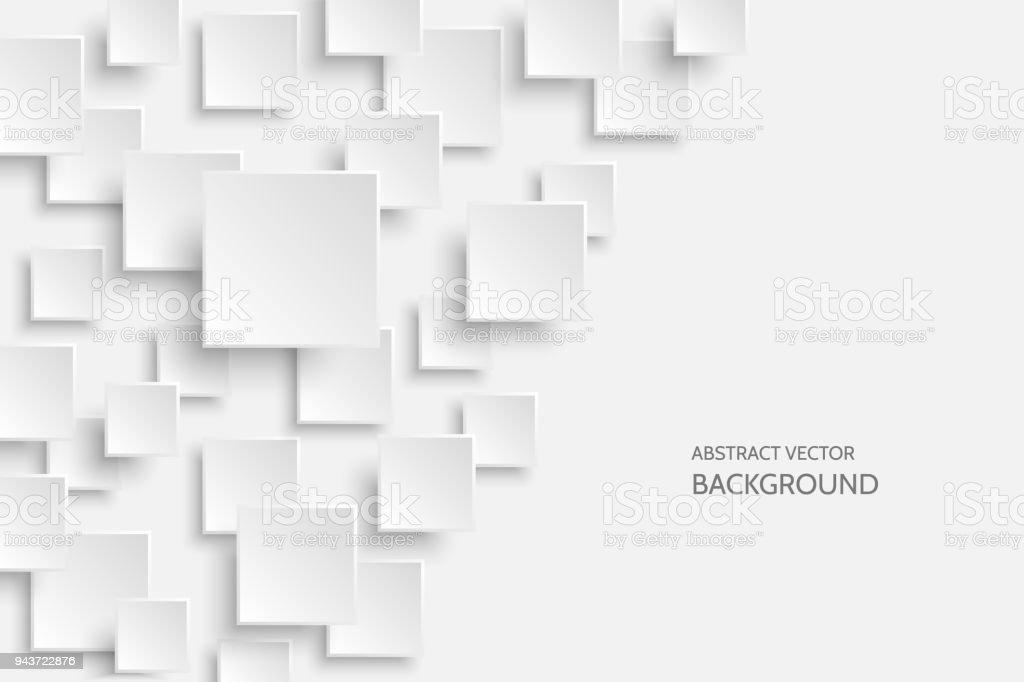 Vector white modern abstract background vector art illustration