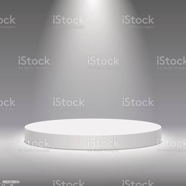 Vector white pedestal for product presentation round white stage vector id690018634?b=1&k=6&m=690018634&s=612x612&h=5kxv87333d9sq1sku4pwaqbssbirtqq3nx2w6qtrr m=