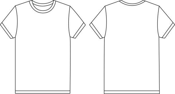 royalty free t shirt template clip art vector images