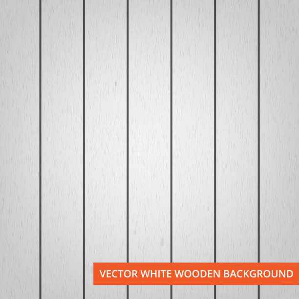 vector white wood planks as texture and background vector white wood planks as texture and background with copy space for text. nu stock illustrations