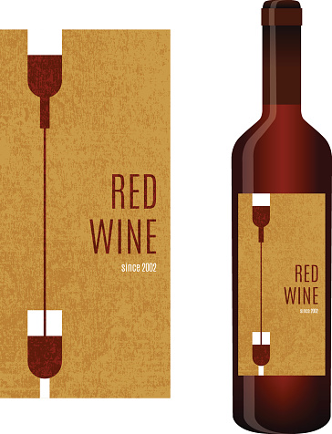 Vector Wine Label Stock Illustration - Download Image Now ...