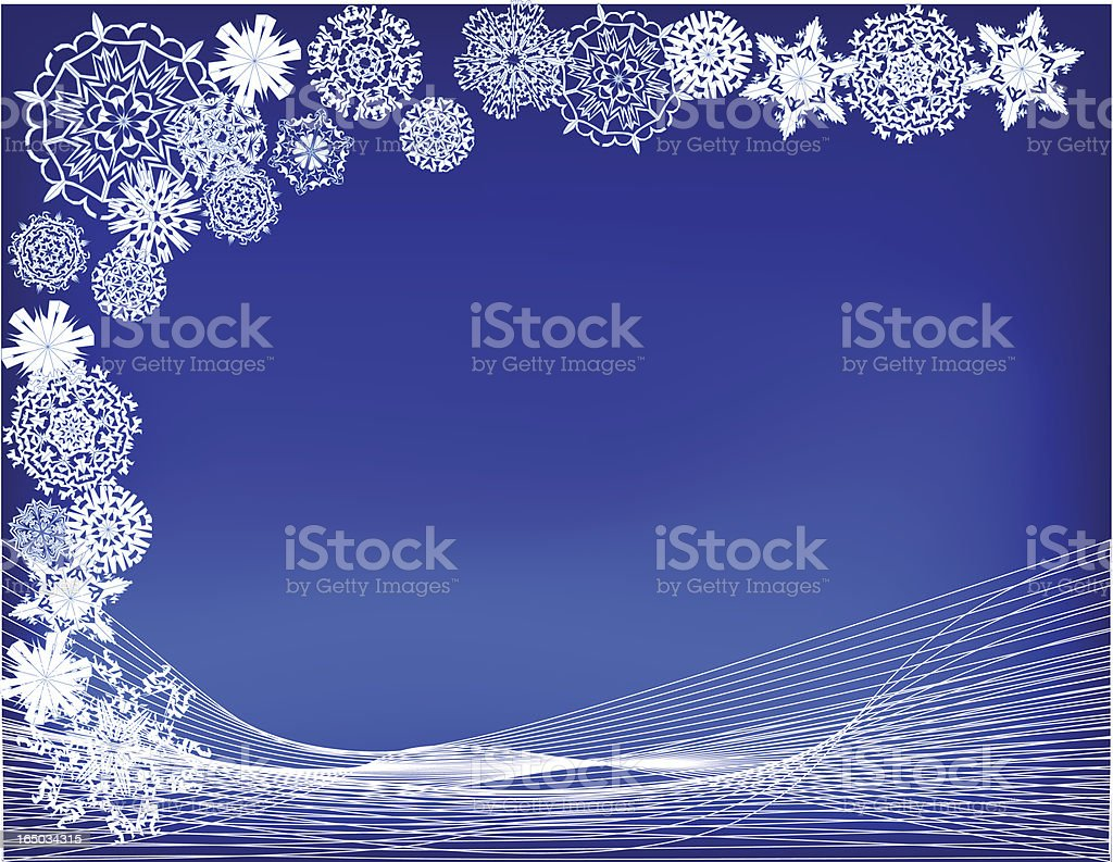 Vector Winter Background royalty-free vector winter background stock vector art & more images of abstract