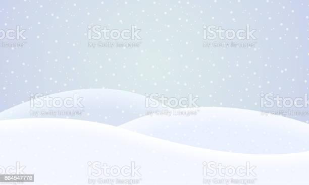 Vector winter snowy landscape with falling snow under blue sky vector id864547776?b=1&k=6&m=864547776&s=612x612&h=4epvjw3d5lukr7wpycsbjnqtp0n zma 8kae4ixpozc=