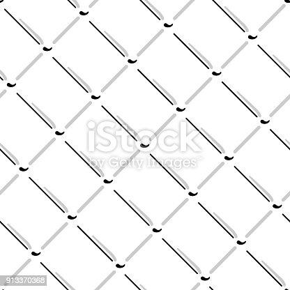 Vektor Wire Meshnahtlose Muster Graue Maschendraht Isolierten Auf ...